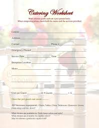 Cake Order Form Template Example 20 best simple order form