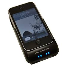 Power Sleeve Charging Case iPhone 3GS 3G Black