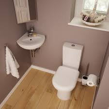Small Wall Mounted Corner Bathroom Sink by Kohler Corner Toilet For A Mini Bathroom Bathroom U0026 Toilet