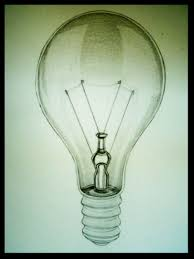 light bulb pencil drawing how to draw glass with colored pencils