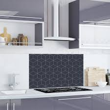 Geometric Cube Kitchen Splashback Tile Decal