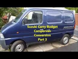 Suzuki Carry Low Budget Campervan Conversion Part 3