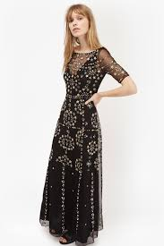 evie sparkle maxi dress collections french connection