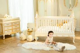 wy108 neue design baby krippe holz luxus babybett bett elfenbein weiß baby möbel buy babybetten holz luxus babybett bett kinderbett product on
