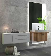 casa padrino luxus badezimmer set braun weiß 1 waschtisch und 1 waschbecken und 1 led wandspiegel und 1 hängeschrank luxus badezimmermöbel