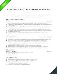 Resume Samples For Business Analyst Associate Business Analyst