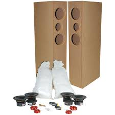 Mills Pride Cabinets Instructions by Tritrix Mtm Tl Tower Speaker Components And Cabinet Kit Pair