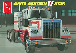 Amazon.com: AMT 1/25 White Western Star Semi Truck Model Kit: Toys ... Crossrc Bc8 Mammoth 112 Scale 8x8 Off Road Military Truck Kit Building Experience T19 Products Ingmar Spijkhoven Vintage 1970s Amt Chevy Bison 125 Semi Tractor Cab Model Kits For Sale Best Resource Amazoncom White Western Star Toys Freightliner 2in1 Scdd Cabover 75th Rare Amt Peterbilt Wrecker T533 Convoy Mack Plastic Ats Mods Australian Army Diamond Reo Semitrailer Meng Us M911 Chet 8x6 M747 Heavy Equipment Semitrailer 135 Tamiya America Inc 114 King Hauler Horizon Hobby