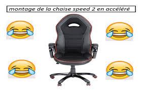 comment monter une chaise de bureau montage en accéléré de la chaise speed 2 galère a mourir de