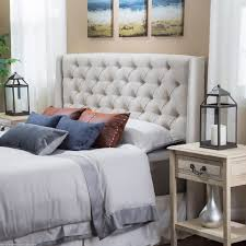 King Size Tufted Upholstered Headboard 38 Cool Ideas For Wingback by Diy Pallet Headboard Ricedesigns The I Debated Cutting Top Of To