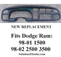 Buy - Dodge Ram Dash Items - Dash Instrument Cluster Replacement ... Au Fits For Toyota Corolla 072013 Dashmat Dash Cover Dashboard Designs Molded Carpet In Tan For 8086 Ford Fseries Cracked Yukon Tahoe Suburban Sierra Silverado Avalanche Car Dashboard Covers Subaru Brz 2013 Years Left Hand Drive Protect Or Hide Your With A Lovers Direct Grey 16670047 Fits Suzuki Aerio 0507 Black Suede Mat 2005 Lexus Rx330 Clublexus Forum 20 New Photo Covers Dodge Trucks Cars And Amazoncom Fly5d Sun Pad Dashmat Polycarpet Velour Cover Unique 2018 Ram 2500 Power Wagon