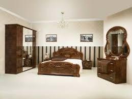 details zu schlafzimmer in walnuss klassisch barock design