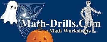 Halloween Multiplication Worksheets Coloring by Halloween Math Worksheets