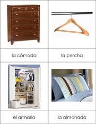 Spanish Bedroom Nomenclature From Montessori For Everyone