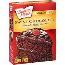 Signature Swiss Chocolate Cake Mix