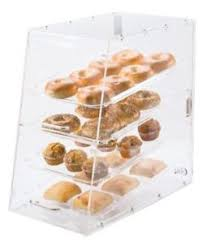 Image Is Loading Small Bakery Display Case Box 4 Tray Front