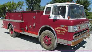 1967 Ford 750 Fire Truck | Item 3122 | SOLD! September 22 Mi...