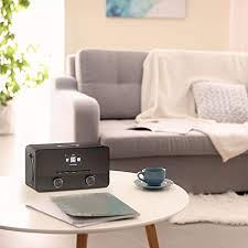 auna connect 100 bk digitales internetradio mit wlan