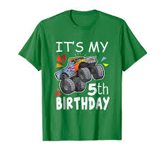 Trends It's My 5th Birthday Boy Monster Truck Shirt 5 Year Old Tee ... Monster Truck Shirt Vinyl Jam Phoenix Discount Code Brie Amazoncom Boys Tshirt 47 Clothing Personalized Iron On Transfers Grave Digger Birthday Shirt Custom T Ugly Christmas Sweaters Tacky Apparel Shirtinvaderscom Online Store Kids This Is How I Roll 4th Boy Gift Son Uva Monogram Trucks Big Brother Little Shirts Sibling Etsy Toughskins Graphic Tshirt Shoes Maxd Dare Devil Yellow Tvs Toy Box