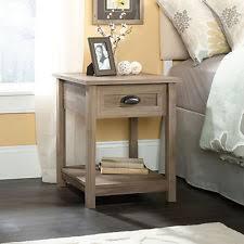 2 Sauder Furniture County Line Salt Oak Side Table
