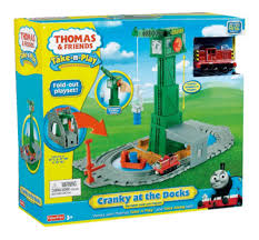 Thomas And Friends Tidmouth Sheds Trackmaster by Fisher Price Thomas U0026 Friends Take N Play Cranky Docks Amazon Co