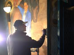 Coit Tower Murals Wpa by Process Arg Conservation Services Inc
