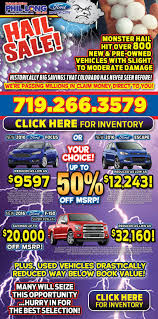 100 Trucks For Sale In Colorado Springs Hail Damaged Cars For In Phil Long