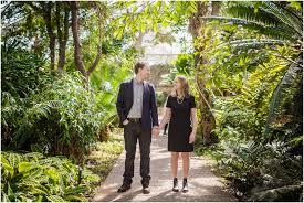 A Matthaei Botanical Garden Engagement Session Matt & Ariel