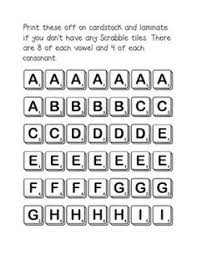 free download scrabble boggle worksheet they have printable