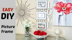 Quick and Easy Cheap Diy Wall Art Picture Frame