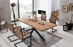 sit esstisch tops tables aus recyceltem altholz teak kaufen otto