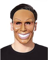 The Purge Mask Halloween Express by Smiling Man Mask Spirithalloween Com