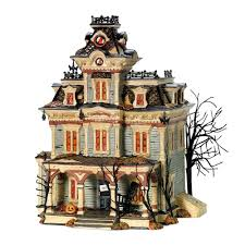 Dept 56 Halloween Village List by Amazon Com Department 56 Snow Village Halloween Grimsly Manor