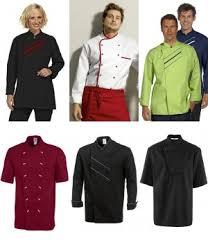 tenue de cuisine homme vêtement cuisine et restauration biomidi