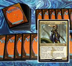 Magic The Gathering Edh Deck Box by Mtg Blue Black Green Sultai Commander Edh Deck Magic The Gathering