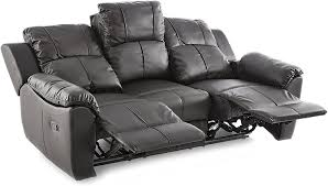 3 plus 2 sitzer valencia schwarzes liege sofa leder