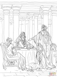 Esther Accusing Haman Coloring Page And Pages