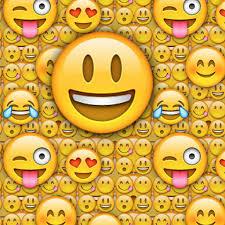 Fresh Laughing Emoji Black Background
