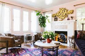 A Designer's Eclectic, Bohemian California House - Home Tour ... Exciting Eclectic Ding Rooms Boho Style That Can Fit In Top 5 Room Rug Ideas For Your Overstockcom Now You Have The Bohemian Of Dreams Get Look Authentic Midcentury Modern Design By Havenly Amazoncom Yazi Red Mediterrean Tie On 20 Awesome And Decor Photo Bungalow Rose Legends Fniture 6pc Rectangular Faux Cement Set In Chestnut