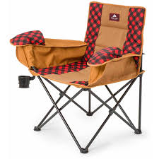 Kelsyus Canopy Chair Recall by Ozark Trail Cold Weather Chair With Steel Frame Black Red Warm