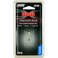 20 watt xenon g8 120 volt 2 pack 20watt t3 2pin g4 base halogen