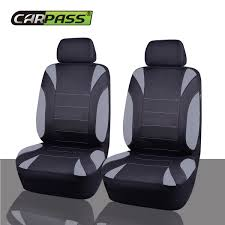 100 Neoprene Truck Seat Covers Universal Two Front Car Black Beige Airbag Fit