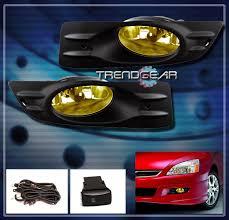 2006 2007 honda accord ex lx coupe 2dr jdm bumper yellow fog light