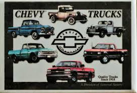 100 Truck Magnet Chevy S Generations FRIDGE MAGNET S10 Silverado Pickup
