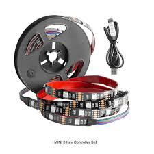 smd 5050 led rgb streifen leiste dc5v usb kabel