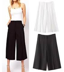 popular capri pants black buy cheap capri pants black lots from
