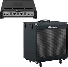 Ampeg V4 Cabinet Ohms by Ampeg Portaflex Pf 500 Head And Pf 210he Cabinet Stack Sweetwater