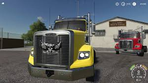 Freightliner Coronado SD V1.0 » GamesMods.net - FS19, FS17, ETS 2 Mods Ford F250 Mega Raptor Has 46inch Tires Takes No Prisoners Scania T Rjl The Expendables Skin 122 Ets2 Mods Euro Truck Fs19 Building A Truck Offroad Park Adding On To Freightliner Coronado Sd V10 Truck Farming Simulator 19 Mod 1955 F100 Pickup Hot Rod Network 2011 F350 V1000 Mod Simulator 2017 Fs Ls Mod Gamesmodsnet Fs17 Ets 2 The Expendables Movie In Flat Black With 6 Window Son Of Tragic Tonge Moor Lorry Driver Gets Whisked Off To Prom On Crew Cab Beta 17 Pickup Denver Co