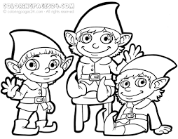 Full Size Of Coloring Pagewinsome Elf Sheets Christmas Elves Pages Page Large