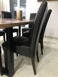6 esszimmer stühle gebraucht